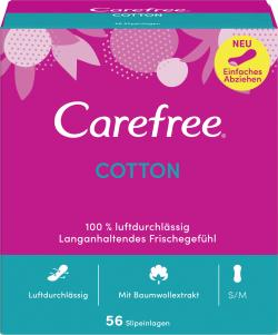 Carefree Slipeinlagen Cotton Gr. S/M