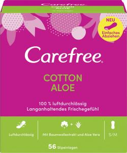 Carefree Slipeinlagen Cotton Aloe Gr. S/M