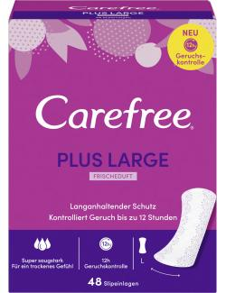 Carefree Slipeinlagen Plus Large Frischeduft Gr. L