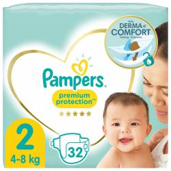 Pampers Premium Protection New Baby Gr.2Mini 4-8 kgTragepack