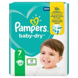 Pampers Baby-Dry Windeln Gr. 7 15+kg