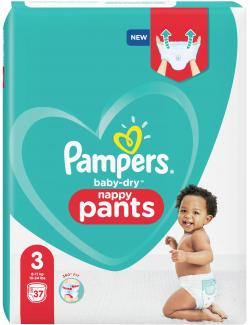 Pampers Baby Dry Nappy Pants Windeln Gr. 3 6-11 kg