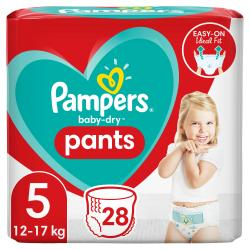 Pampers Baby Dry Nappy Pants Gr. 5 12-17 kg