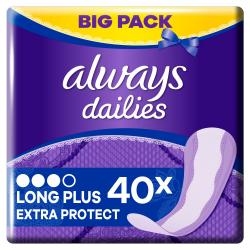 Always Slipeinlagen Extra Protect Long Plus