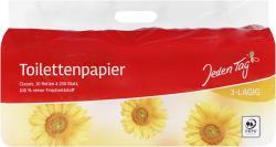 Jeden Tag Toilettenpapier 3-lagig classic