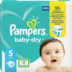 Pampers Windeln Baby Dry Gr. 5  11-16kg