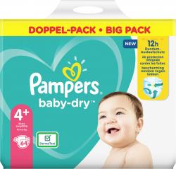 Pampers Windeln Baby Dry Gr. 4+  10-15kg