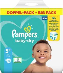 Pampers Windeln Baby Dry Gr. 5+  12-17kg