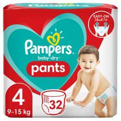 Pampers Höschenwindeln Baby Dry Nappy Pants Gr. 4  9-15kg