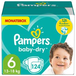 Pampers Monatsbox Baby Dry Gr. 6 Extra Large 15+