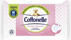 Cottonelle Feuchtes Toilettenpapier Sensitiv pflegend parfümfrei & extra sanft
