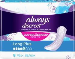 Always Discreet Inkontinenz-Einlagen Long Plus bei Blasenschwäche