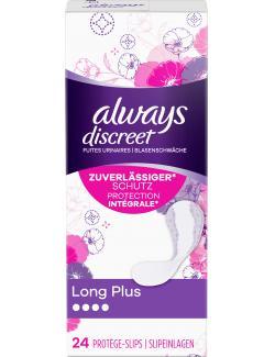 Always Discreet Inkontinenz - Slipeinlagen Long Plus bei Blasenschwäche