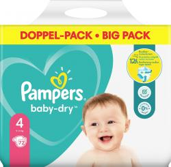Pampers Baby-Dry Gr. 4, 9-14 kg