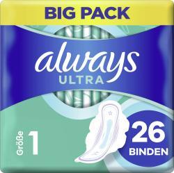 Always Ultra Damenbinden Normal (Größe 1) Mit Flügel BigPack