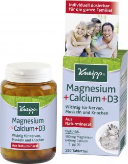 Kneipp Magnesium + Calcium + D3 Tabletten