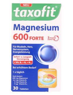 Taxofit Magnesium 600 Forte - 4008617042686