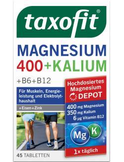 Taxofit Magnesium + Kalium Tabletten