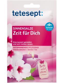 Tetesept Sinnensalze Zeit für dich Hibiskusblüten + Weißer Tee (60 g) - 4008491403849