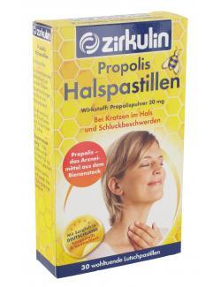 Zirkulin Propolis-Halspastillen - 4056500008493