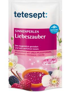 Tetesept Sinnenperlen Liebenszauber Brombeere + Himbeere + Vanille (80 g) - 4008491429375