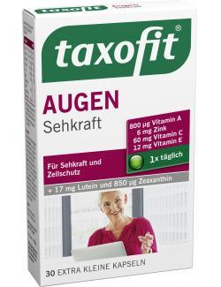 Taxofit Augen Plus Luein + Zeaxanthin Kapseln - 4008617024569