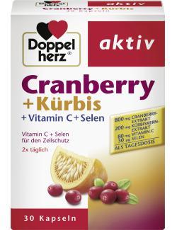 Doppelherz aktiv Cranberry + Kürbis Kapseln