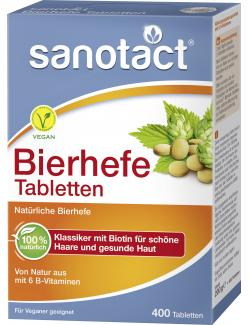Sanotact Bierhefe Tabletten - 4003087400158