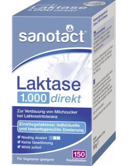 Sanotact Laktase Kautabletten (150 St.) - 4003087430254