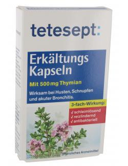 Tetesept Erkältungs Kapseln (40 St.) - 4008491224567