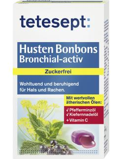 Tetesept Husten Bonbons Bronchial-activ (75 g) - 4008491319157