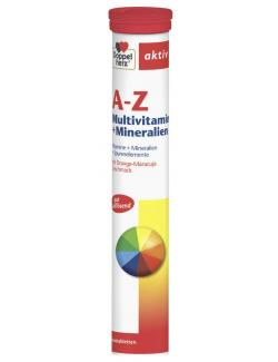 Doppelherz aktiv A-Z Multivitamin + Mineralien Brausetabletten