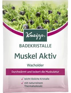 Kneipp Muskel Aktiv Wacholder Badekristalle