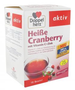 Doppelherz aktiv Heiße Cranberry mit Vitamin C + Zink Beutel - 4009932007909