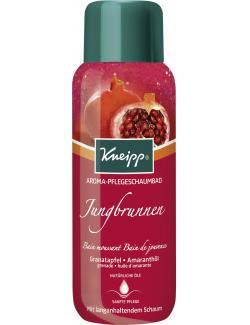 Kneipp Jungbrunnen Aroma-Pflegeschaumbad Granatapfel Amaranthöl (400 ml) - 4008233119915