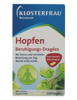 Klosterfrau Nervenruh Hopfen Beruhigungs-Dragees (120 St.) - 4008617143024