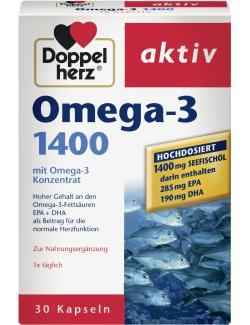 Doppelherz aktiv Omega 3 1400 Kapseln - 4009932007466