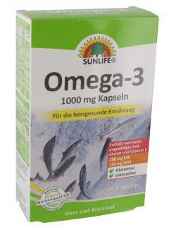 Sunlife Omega 3 Fettsäuren 1000mg Kapseln
