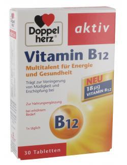 Doppelherz aktiv Vitamin B12 Tabletten - 4009932008821
