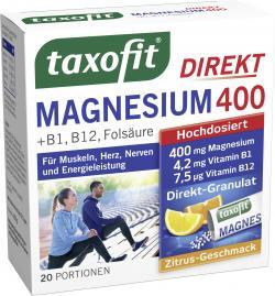 Taxofit Magnesium 400 Granulat (20 St.) - 4008617036333