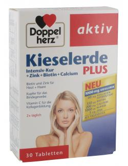 doppelherz aktiv kieselerde plus intensiv kur zink biotin calcium tabletten online. Black Bedroom Furniture Sets. Home Design Ideas
