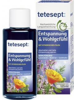 Tetesept Bad Entspannung & Wohlgefühl (125 ml) - 4008491116169