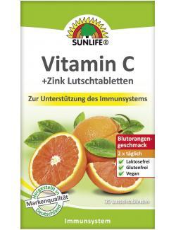 Sunlife Vitamin C + Zink Lutschtabletten