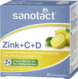 Sanotact Zink + C + D
