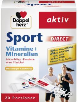 Doppelherz aktiv Sport Vitamine + Mineralien Direct Beutel
