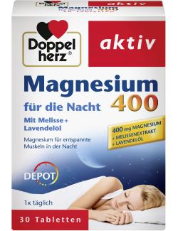 Doppelherz aktiv Magnesium für die Nacht