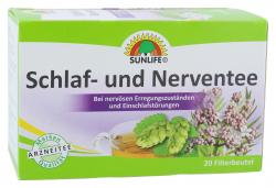 Sunlife Tee Schlaf- und Nerven (20 St.) - 4022679115737