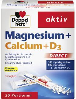 Doppelherz aktiv Magnesium + Calcium+D3 (20 St.) - 4009932001945