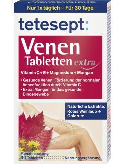 Tetesept Venen Tabletten extra - 4008491276078