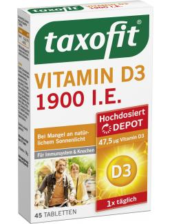 Taxofit Vitamin D3 Tabletten